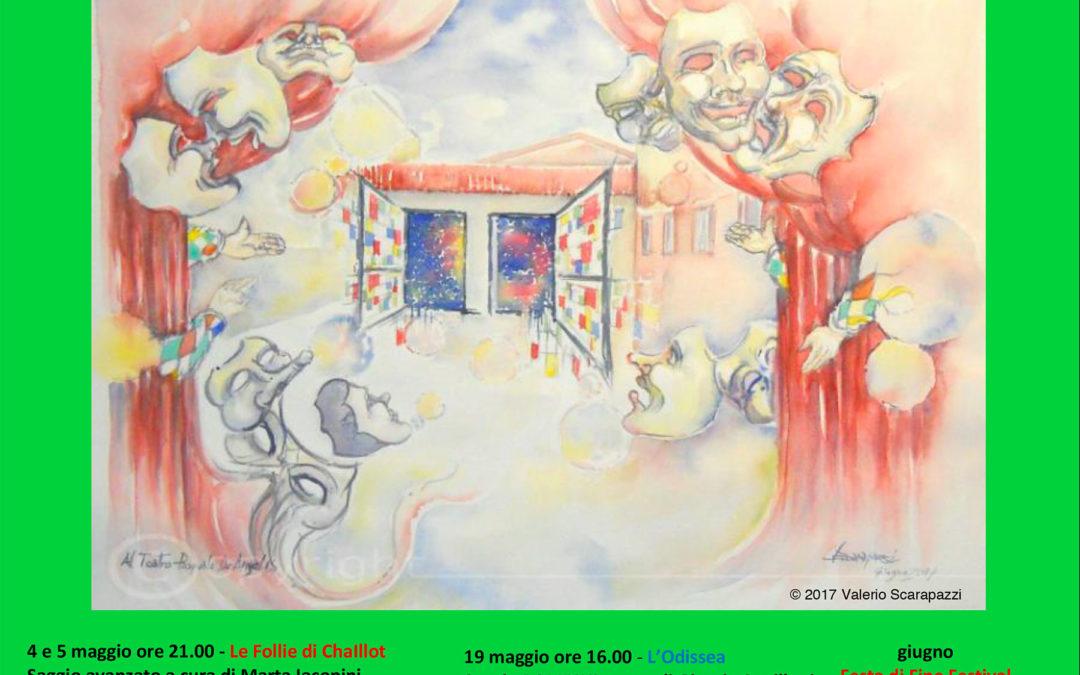 FESTIVAL OFFICINA TEATRO XI – XIII edizione 4 / 27 Maggio 2018 Teatro Municipale Pasquale De Angelis