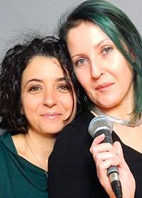 Solange Mattioli e Fulvia Dilettuso
