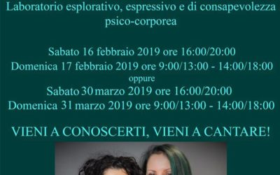 Workshop di Voce e Canto