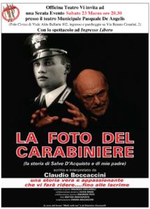 La foto del carabiniere