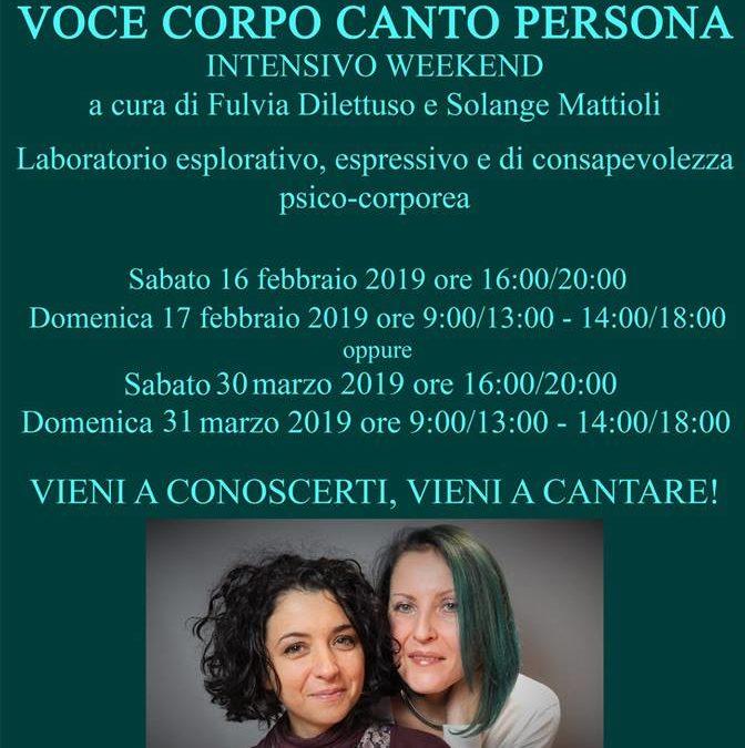 Workshop di Voce e Canto