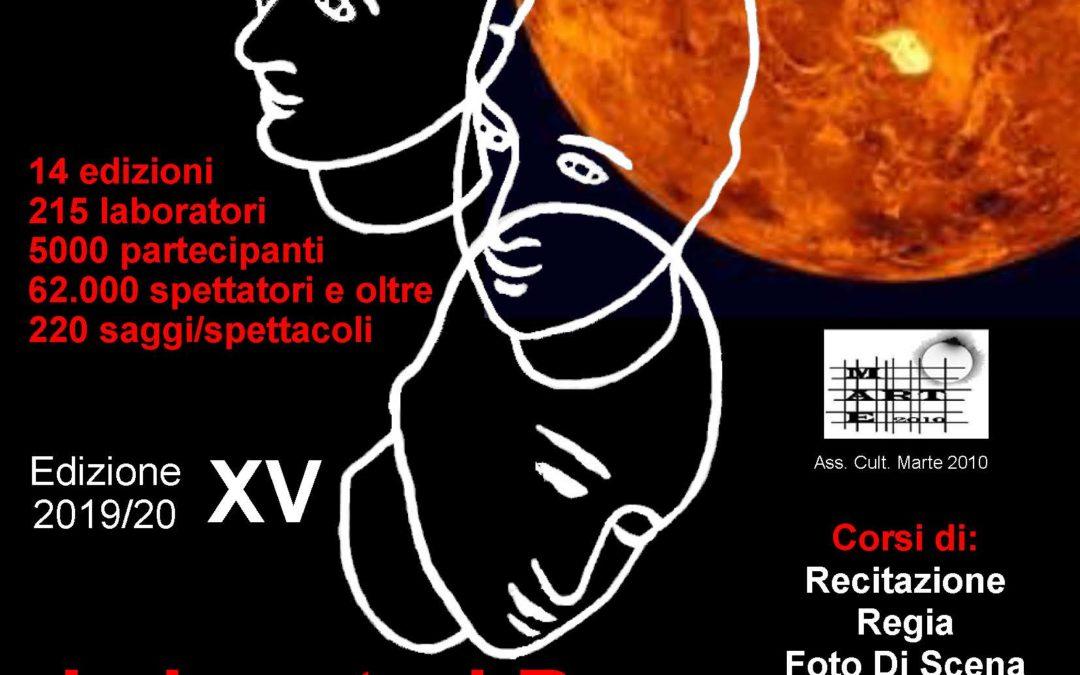 OFFICINA TEATRO XI: LA XV STAGIONE E' GIA' INIZIATA