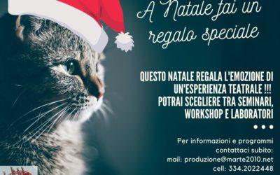 A Natale fatti un regalo speciale con Officina Teatro!