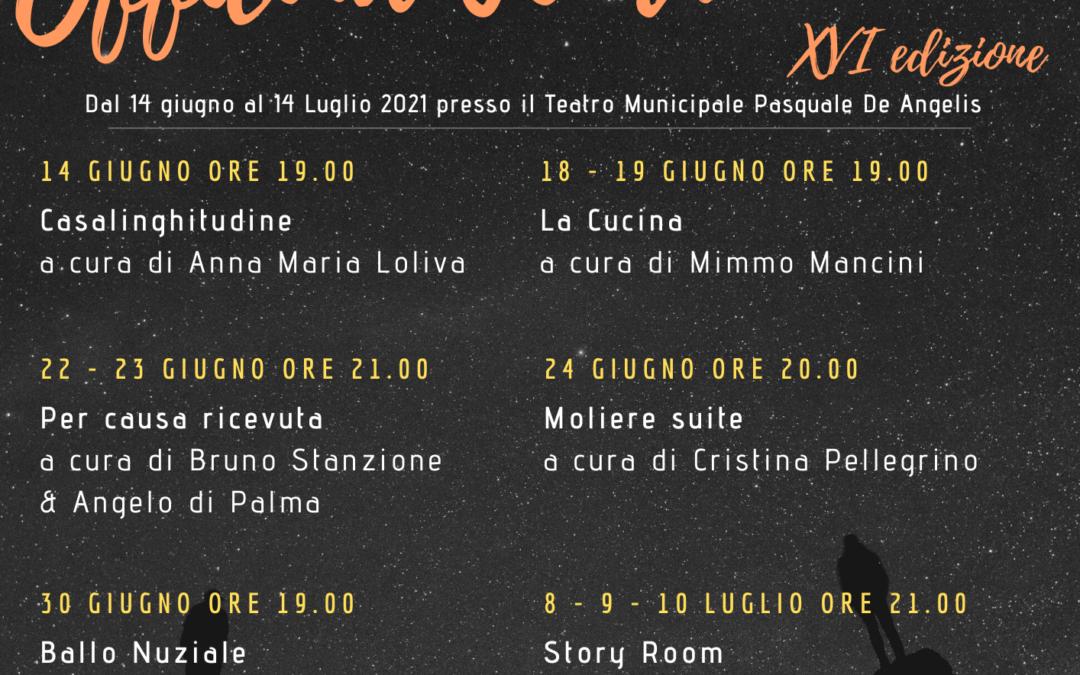 Festival Officina Teatro – XVI edizione
